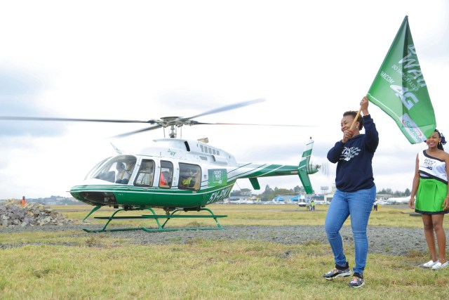 safaricom 1 million 4G customers counties kenya