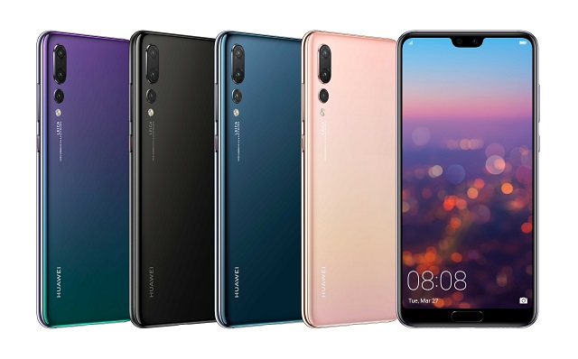 Huawei P20 Family Brings a Notch, Home Button and Triple Cameras to