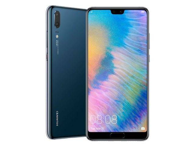 Huawei P20 front