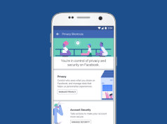 Facebook privacy redesign