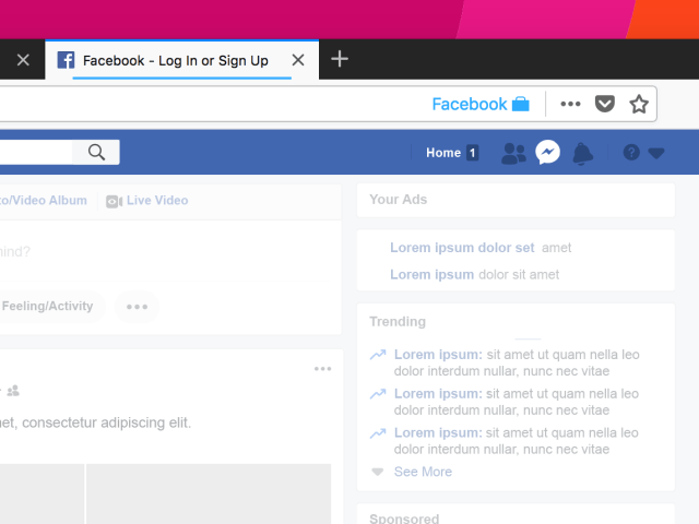 firefox facebook container extension