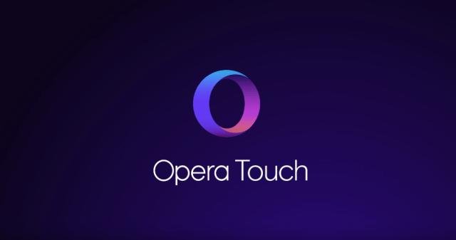 opera announces opera touch
