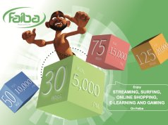 faiba new fiber bundle pricing for home business