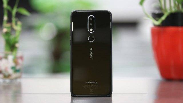 Nokia 6.1 Plus Back