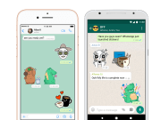 whatsapp announces stickers