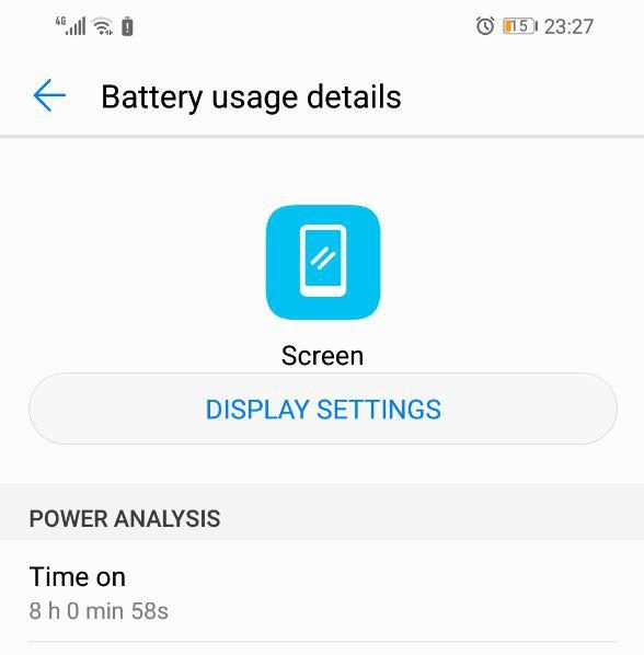 Huawei Y9 (2019) Battery Life