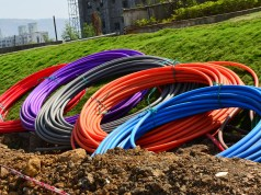 fiber optic subscriptions up