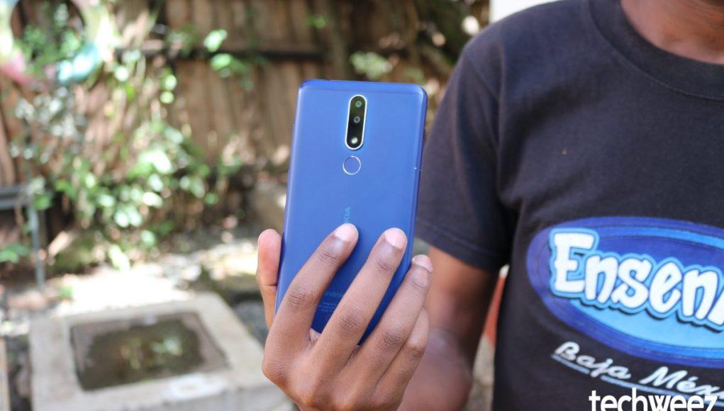 Nokia 3.1 Plus Back