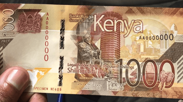 New Currency Kenya