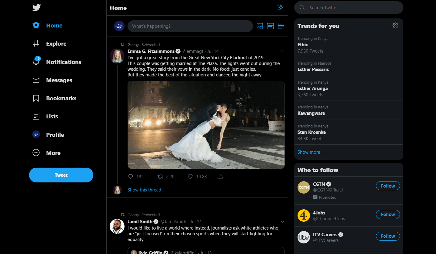 Twitter now rolling out new web experience for desktop users