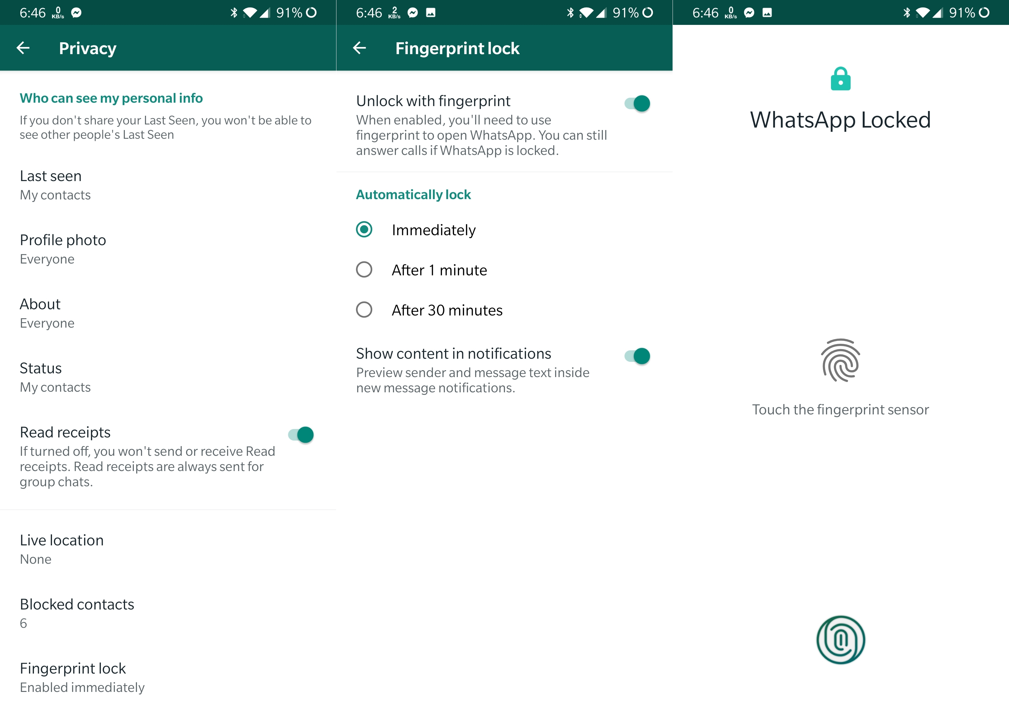 WhatsApp close to adding fingerprint locking feature to Android app