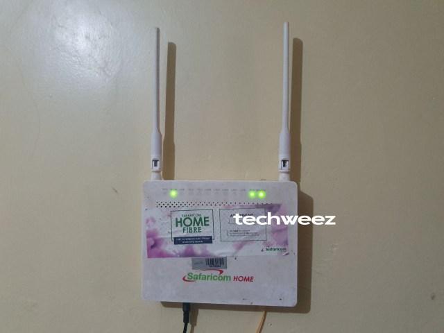 Home Fibre Router