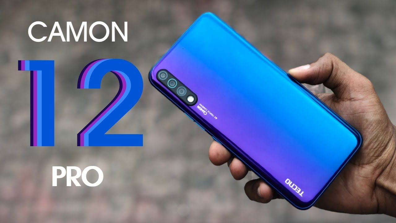 TECNO Announces the Camon 12 Series with Improved Cameras