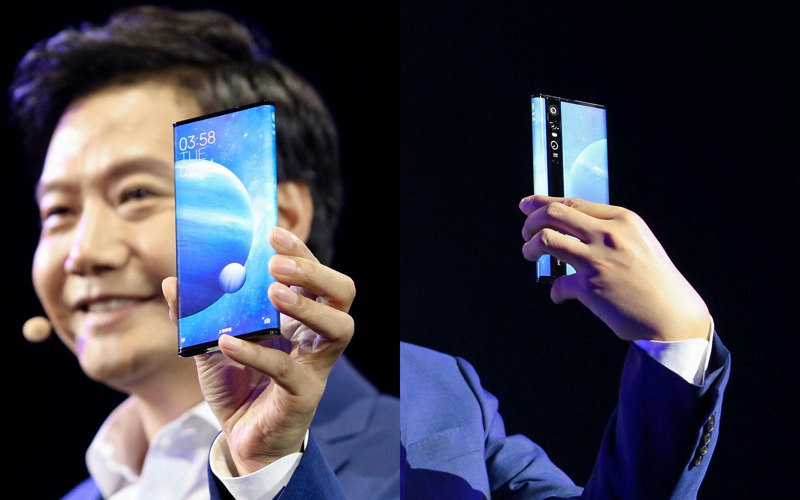 Xiaomi's Mi Mix Alpha has a '180 percent' screen-to-body ratio