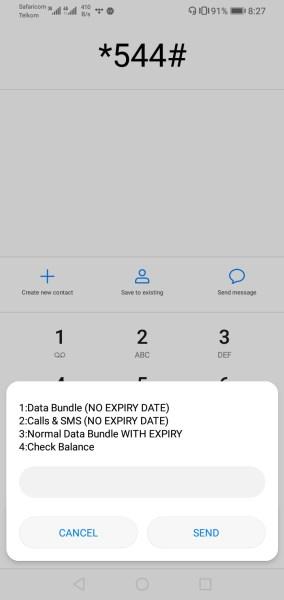 Safaricom no expire bundles