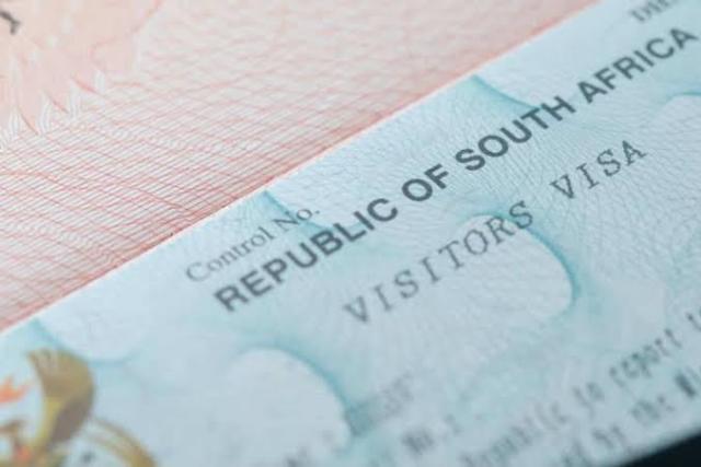south african visa