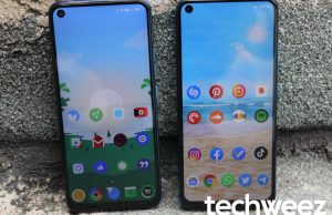 TECNO Camon 12 Air left, Infinix S5 right