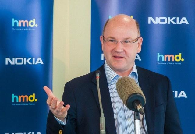 HMD Global CEO Florian Seiche