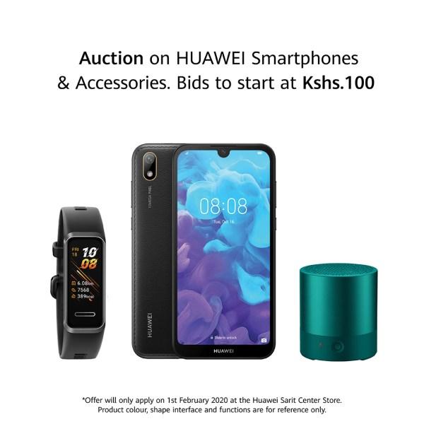 Huawei Auction Bidding