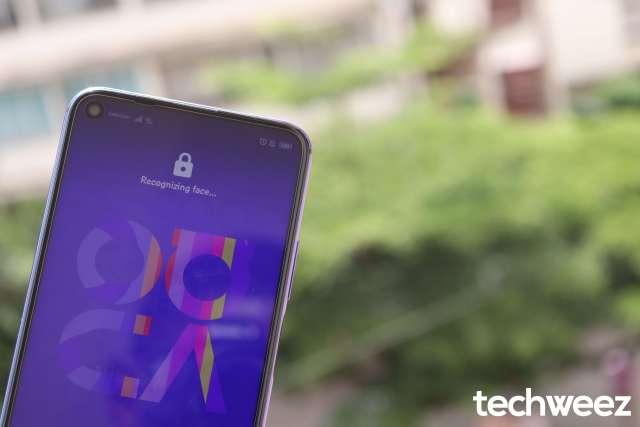 Huawei Nova 5T Face unlock