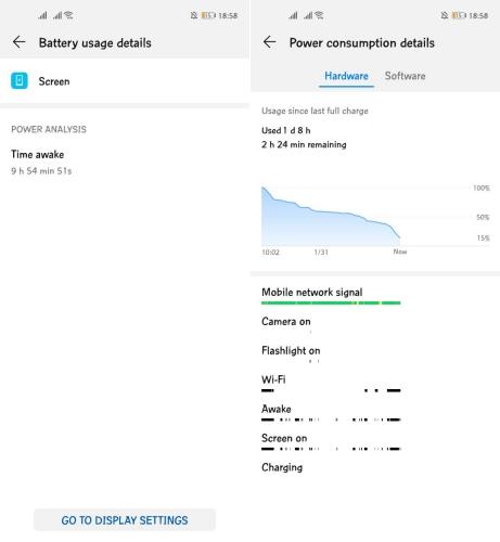 Huawei Nova 5T battery