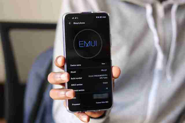 EMUI 10 Android 10 Running on Huawei Nova 5T