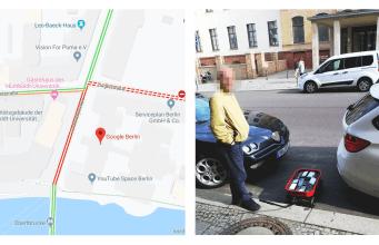 Google maps traffic