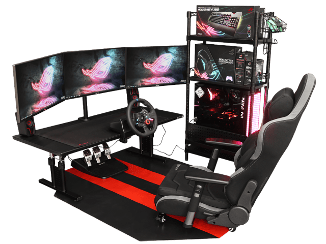 Gaming Racing Setup