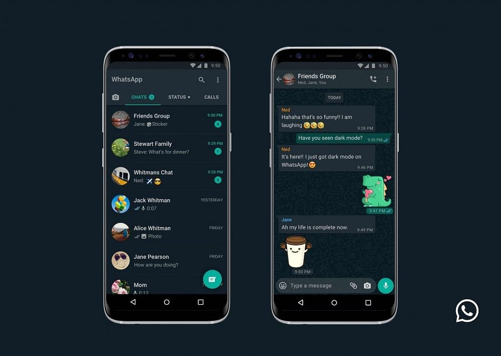 WhatsApp Dark mode is now official, on both Android and iOS platforms