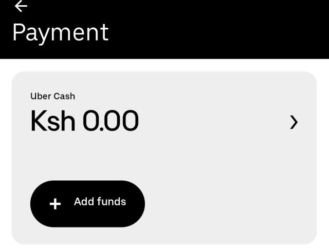 uber cash
