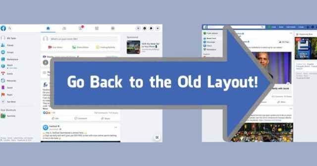 facebook old layout chrome extension