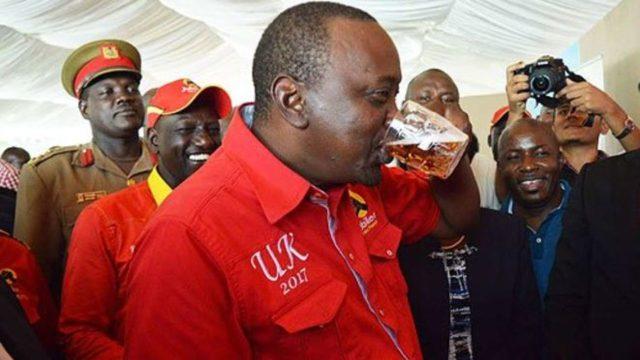 Nairobians drinking