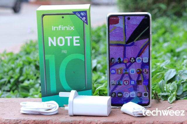 Infinix Note 10 Pro Unboxing and First Impressions Review