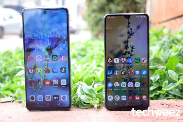 Infinix Note 10 Pro vs Samsung Galaxy A32