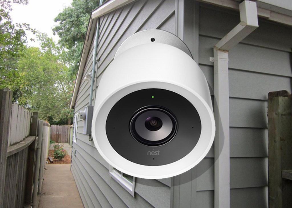 Nest Cam IQ Outdoor  - Google Nest Cam IQ Outdoor Security Camera