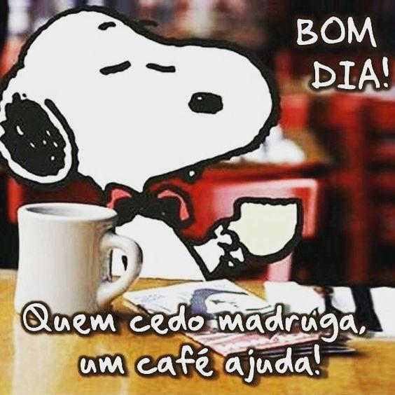 Quem cedo madruga, um café ajuda