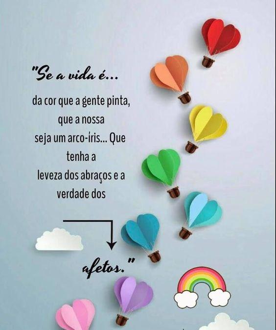 Seja apaixonado pela vida, bom dia!
