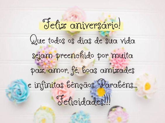 que todos os dias de sua vida sejam preenchido por muita paz, fé, boas amizades e infinitas bênçãos. Parabéns... felicidades!!!