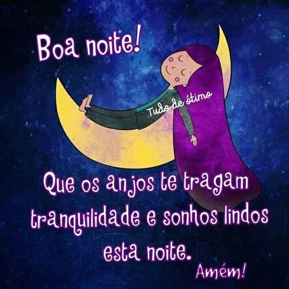 Sonhos lindos nessa noite