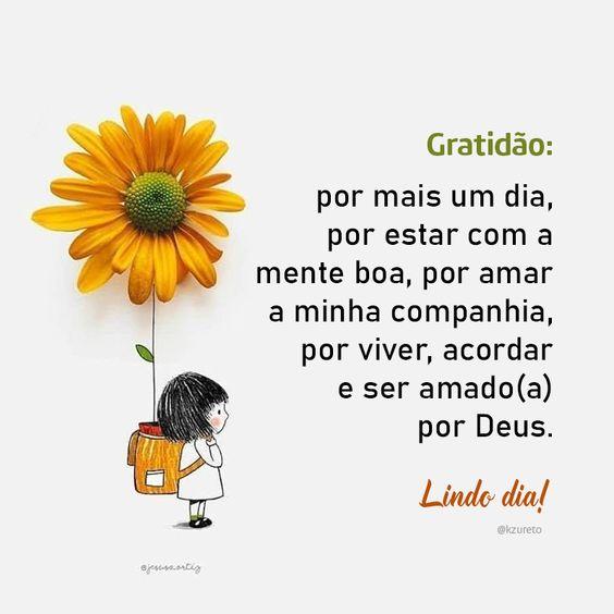 Gratidão pelo dia