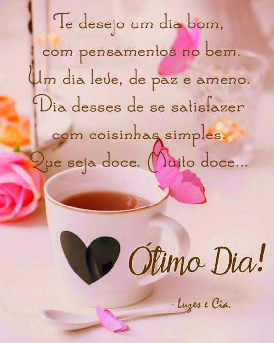 Te desejo um dia especial!