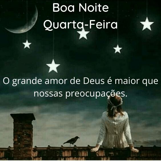Boa noite Amor de Deus
