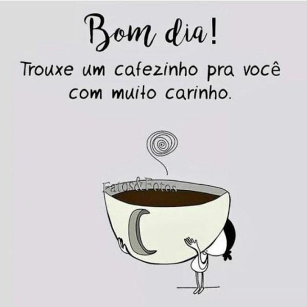 Um bom café.