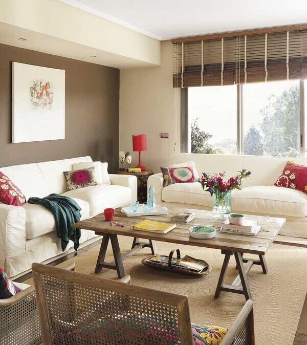 Sala de estar perfeita para você decorar a sua sala.