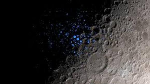 a lua lugar de descoberta