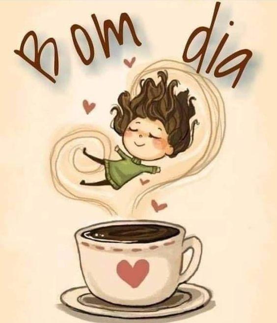 Bom dia com uma dose de café