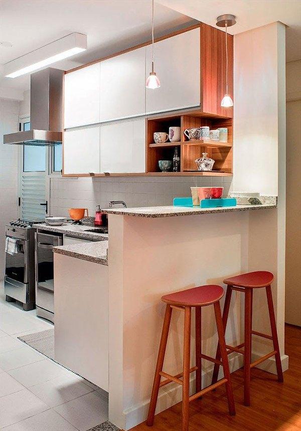 Perfeitamente linda essa decoração de cozinha.
