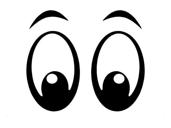 Olho desenho simples.