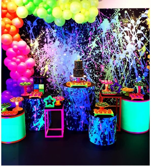 Festa top neon.