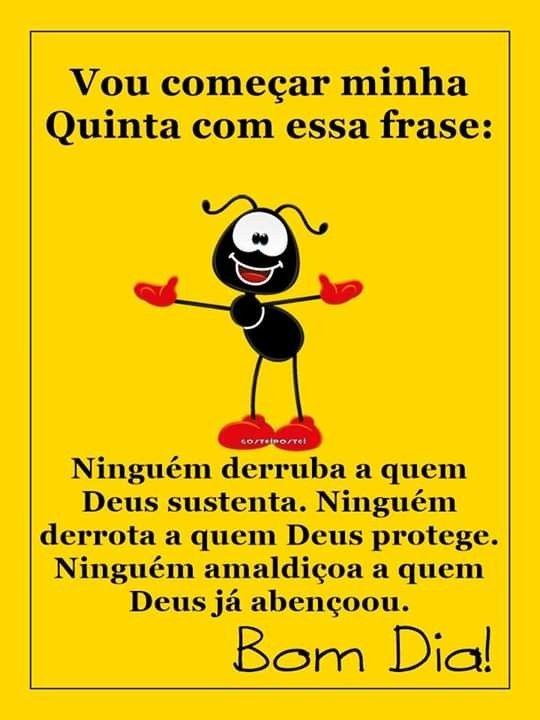 Frase Quinta-Feira